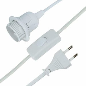 MAILUX E14 E27-Lampenfassung mit Kabel
