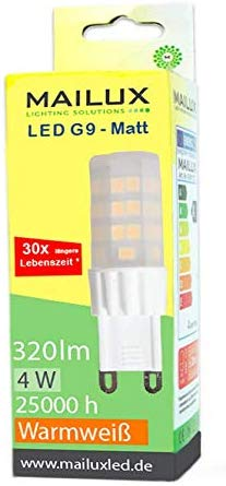 MAILUX G9N19987 LED Energiesparlampe