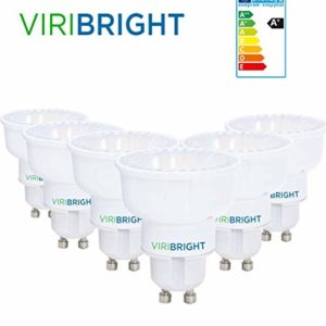 6x VIRIBRIGHT LED Reflektor Lampe | 4.2W