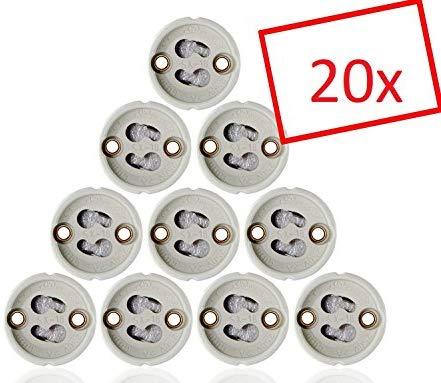 20x MAILUX SOD11301 GU10 Fassung