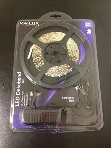 MAILUX LED Flex Band Blau